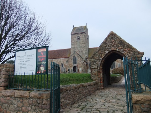 St. Lawrence Church - I wonder if this was where Ann was born?