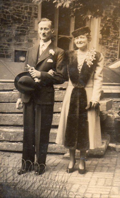richard - mature couple by church