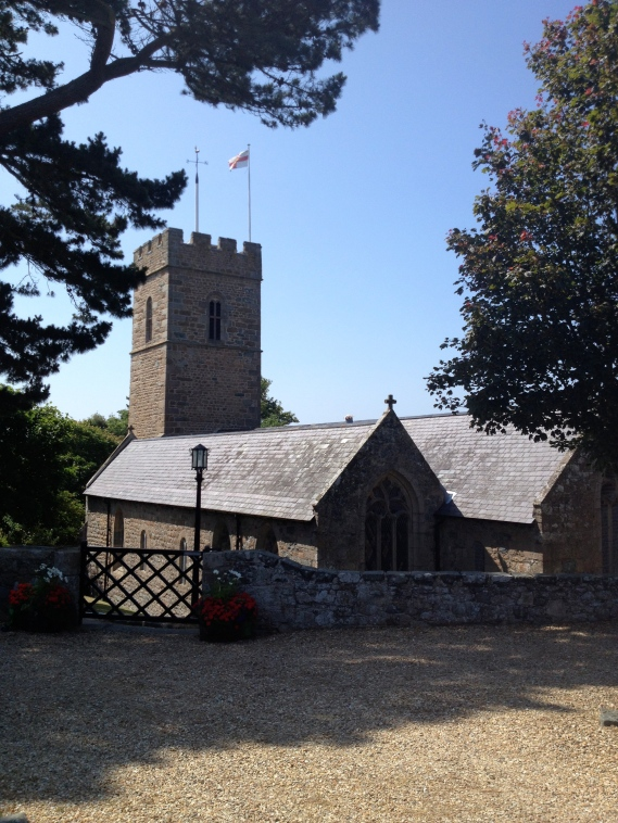 St. Pierre du Bois, Guernsey church where Albert was born on 25th January 1870